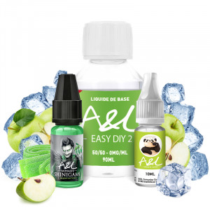 Pack DIY Shinigami Green Edition 100ml A&L
