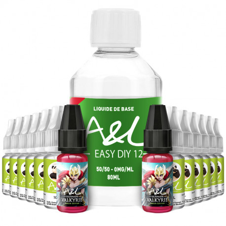 Pack DIY Valkyrie Green Edition 200ml A&L