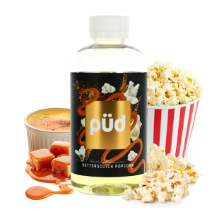 Butterscotch Popcorn Püd 200 ml Joe's Juice