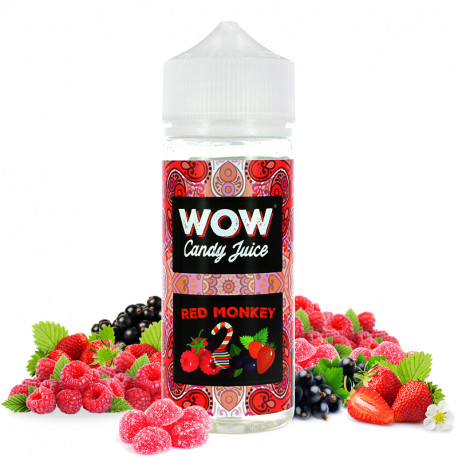 Red Monkey WOW 100 ml Made In Vape