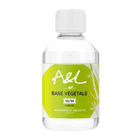 Liquide de base végétale A&L 50/50