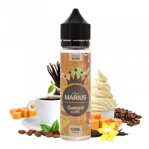 Custard Café 50ml Chez Marius e.Tasty
