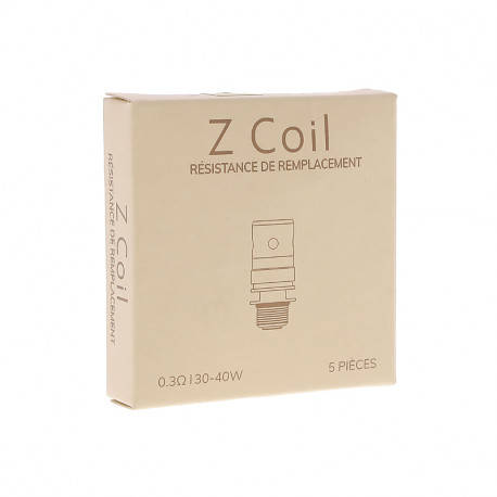 Resistances Z-Coil (x5) pour Zenith par Innokin