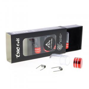 Fused Clapton Coil Ni80 (x10) par THC