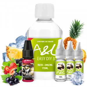 Pack DIY Ragnarok Legend Sweet Édition 200ml A&L