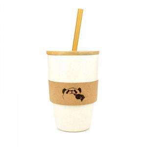 Mug paille bambou A&L