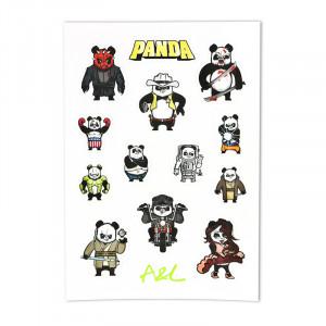 Stickers Panda A&L