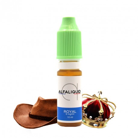 E-liquide Tabac Royal Alfaliquid 10ml
