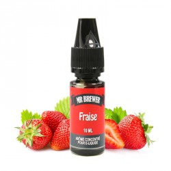 Concentré Fraise 10ml Mr Brewer