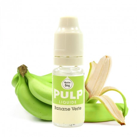 E-liquide Banane Verte PULP (10ml)