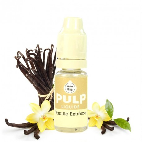 E-liquide vanille extrème PULP 10ml