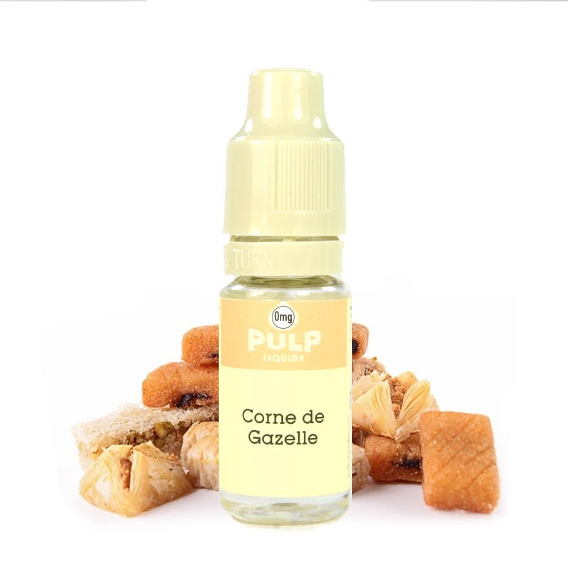 E-liquide Corne de gazelle PULP – Liquide Français – A&L