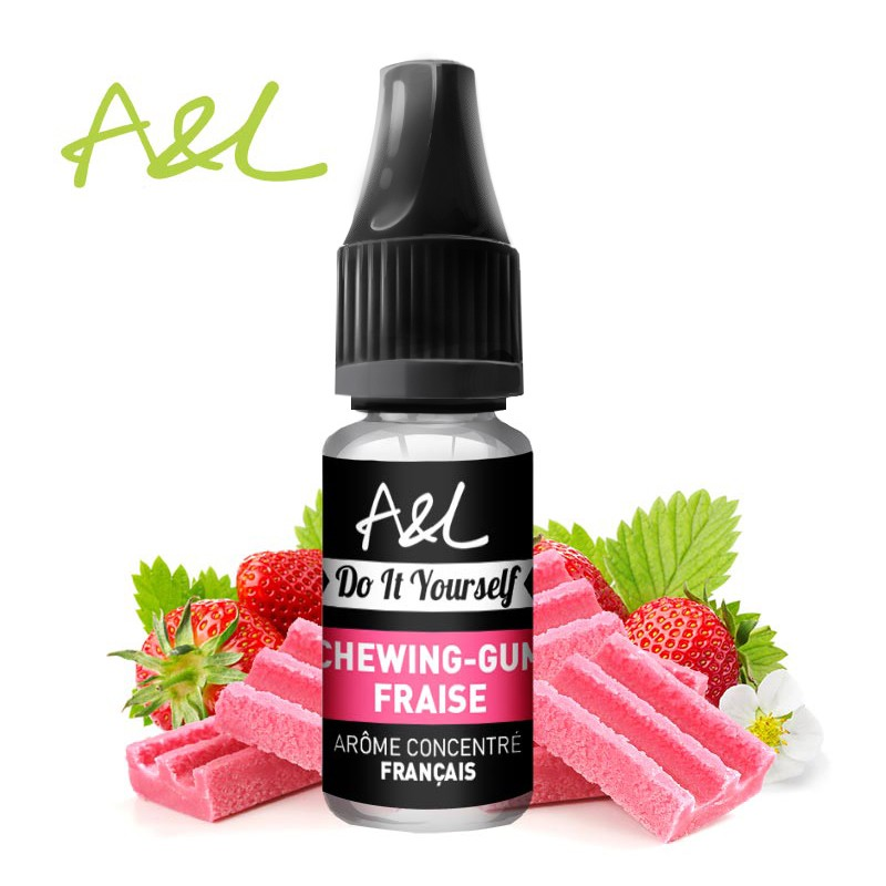 Ar me concentr chewing gum fraise a l pour fabriquer son e liquide - Comment enlever du chewing gum sur du tissu ...