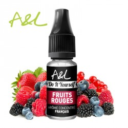 Arôme Fruits Rouges par A&L (10ml)