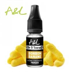 Arôme Bonbon Banane par A&L (10ml)