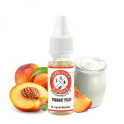 E-liquide Yogurt Peach par You Got E-Juice