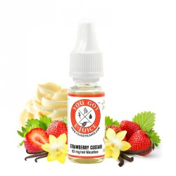 E-liquide Strawberry Custard par You Got E-Juice