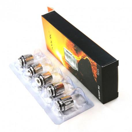 Résistances (x5) TFV8 Baby par Smoktech