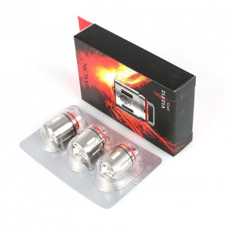 Résistances (x5) pour TFV12 par Smoktech