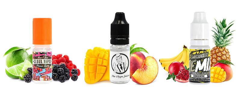 Le Pack d'Arômes Fruités du moment par A&L