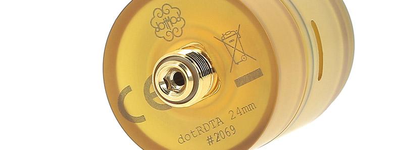 Le pin BF de l'atomiseur DotRDTA par Dotmod