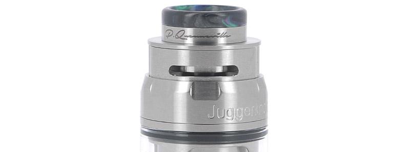 Les arrivées d'air de l'atomiseur Juggerknot Mini RTA par QP Design