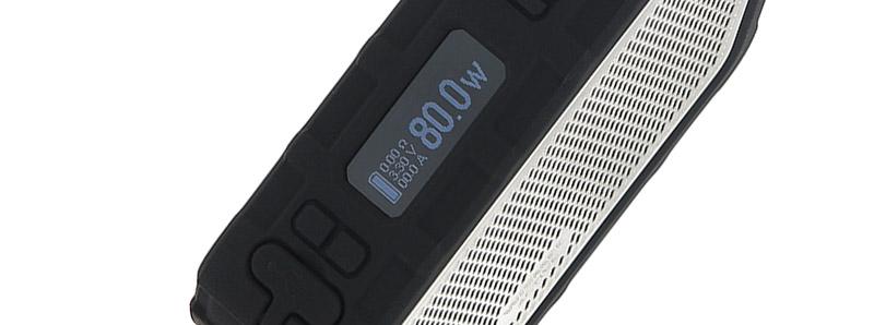 L'écran de la box Active Bluetooth Music par Wismec