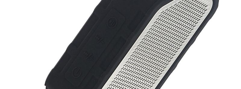 Les commandes de l'enceinte de la box Active Bluetooth Music par Wismec