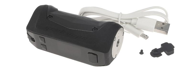 El contenido de la caja Aegis Mini de Geek Vape