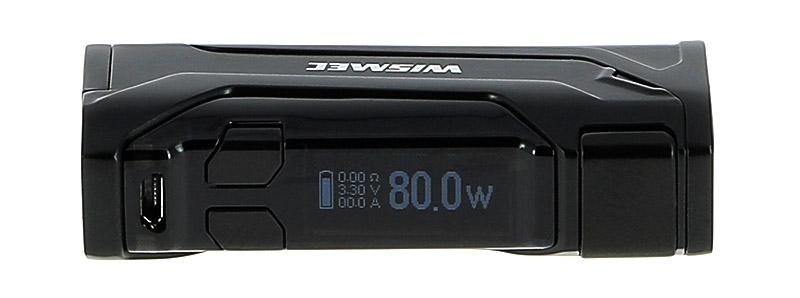 L'écran de la box CB-80 par Wismec