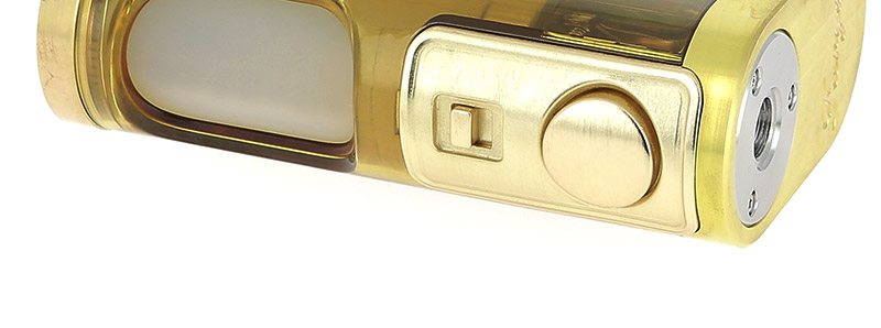 Le switch et l'interrupteur de verrouillage de la box Furyan BF par Lost Vape
