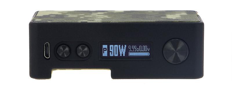 L'écran de la box Pulse X BF par Vandy Vape