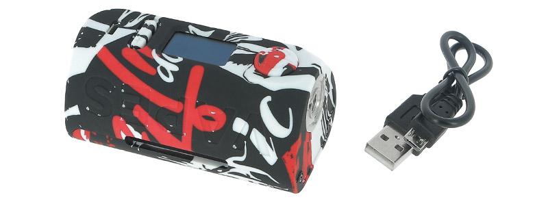 Le contenu de la boîte de la box Puma 200w par Vapor Storm