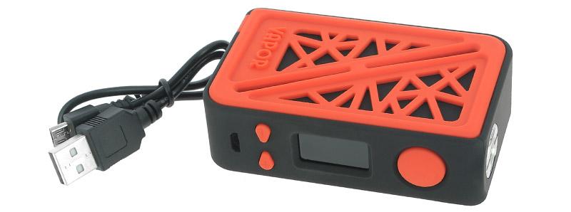 Le contenu de la boîte de la box Subverter 200w par Vapor Storm