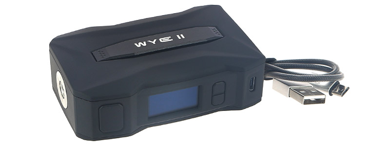 Le contenu de la boîte de la box WYE II par Teslacigs