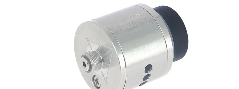 Le pin bottom-feeder du dripper Goon 25 par 528 Custom Vapes