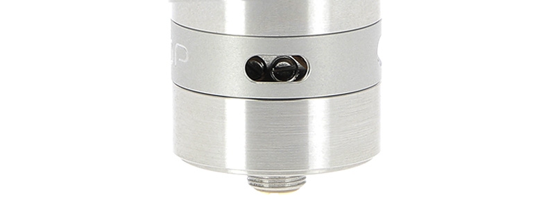 Les arrivées d'air du Dripper Loop RDA par Geek Vape
