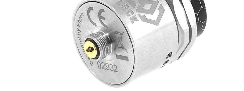 Le pin BF du dripper Lock RDA par Ehpro