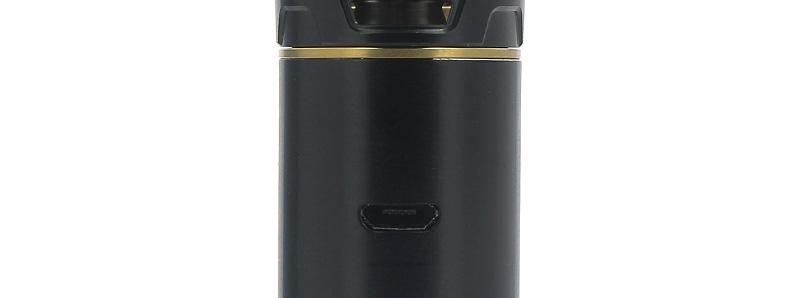 Le port micro-USB de la batterie du kit Cascade One Plus par Vaporesso
