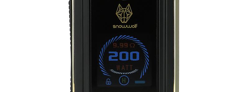 L'écran de la box Mfeng 200w par Snowwolf