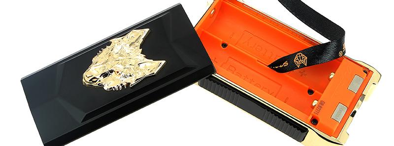 Le compartiment à accus de la box Mfeng 200w par Snowwolf