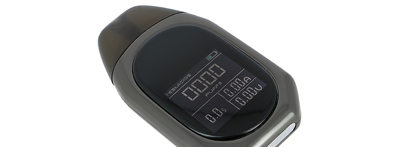 L'écran du kit TPOD par Teslacigs