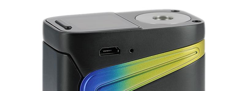 Le port micro-USB de la box V-Fin par Smoktech
