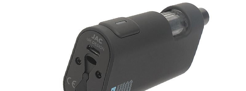 Le port micro-USB du kit VIM par Jac Vapour
