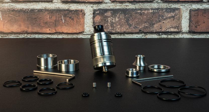 Les accessoires de l'atomiseur Kumo RDTA Aspire