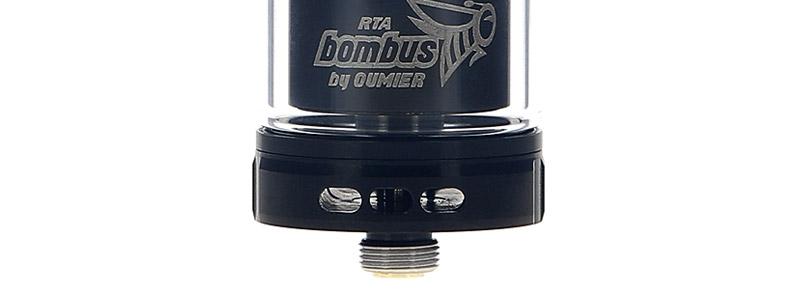 Les arrivées d'air de l'atomiseur Bombus RTA par Oumier