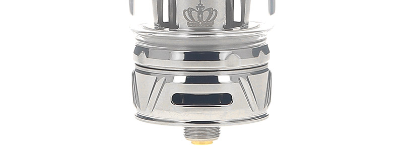 Les arrivées d'air du clearomiseur Crown 4 par Uwell