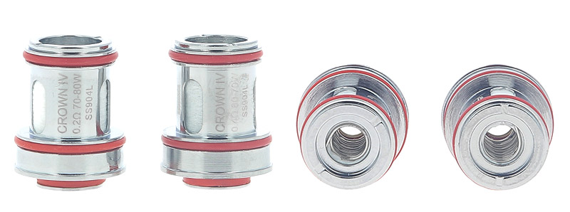 Les résistances du clearomiseur Crown 4 par Uwell