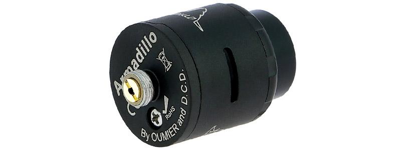 Le pin de connexion bottom-feeder du dripper Armadillo RDA par Oumier