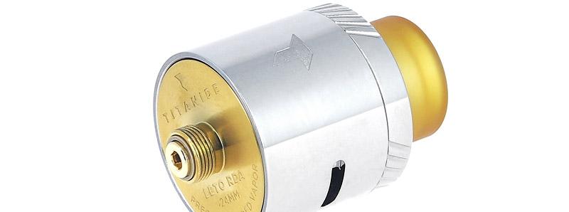 Le pin BF du dripper Leto RDA 24 par Titanide